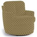 Best Home Furnishings Chairs - Swivel Barrel Skipper Swivel Chair - Item Number: 2978-27069