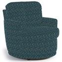Best Home Furnishings Chairs - Swivel Barrel Skipper Swivel Chair - Item Number: 2978-28322