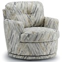 Best Home Furnishings Chairs - Swivel Barrel Swivel Chair - Item Number: 2978-33179