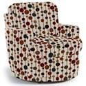Best Home Furnishings Chairs - Swivel Barrel Skipper Swivel Chair - Item Number: 2978-34037