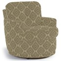 Best Home Furnishings Chairs - Swivel Barrel Skipper Swivel Chair - Item Number: 2978-34569