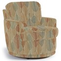 Best Home Furnishings Chairs - Swivel Barrel Skipper Swivel Chair - Item Number: 2978-34914