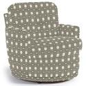 Best Home Furnishings Chairs - Swivel Barrel Skipper Swivel Chair - Item Number: 2978-35313