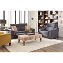 Vendor 411 Tanya Reclining Living Room Group