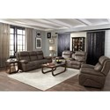 Best Home Furnishings Telva Reclining Living Room Group - Item Number: S980 Living Room Group 4