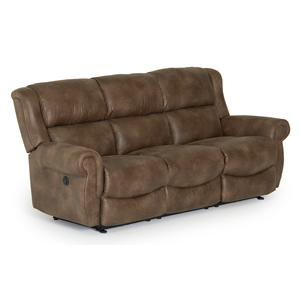 Morris Home Furnishings Terrill Power Space Saver Reclining Sofa