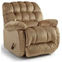 Best Home Furnishings Recliners - The Beast Roscoe Beast Rocker Recliner - Item Number: 9B27