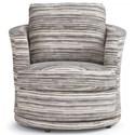Best Home Furnishings Tina Swivel Barrel Chair - Item Number: 2998-26322