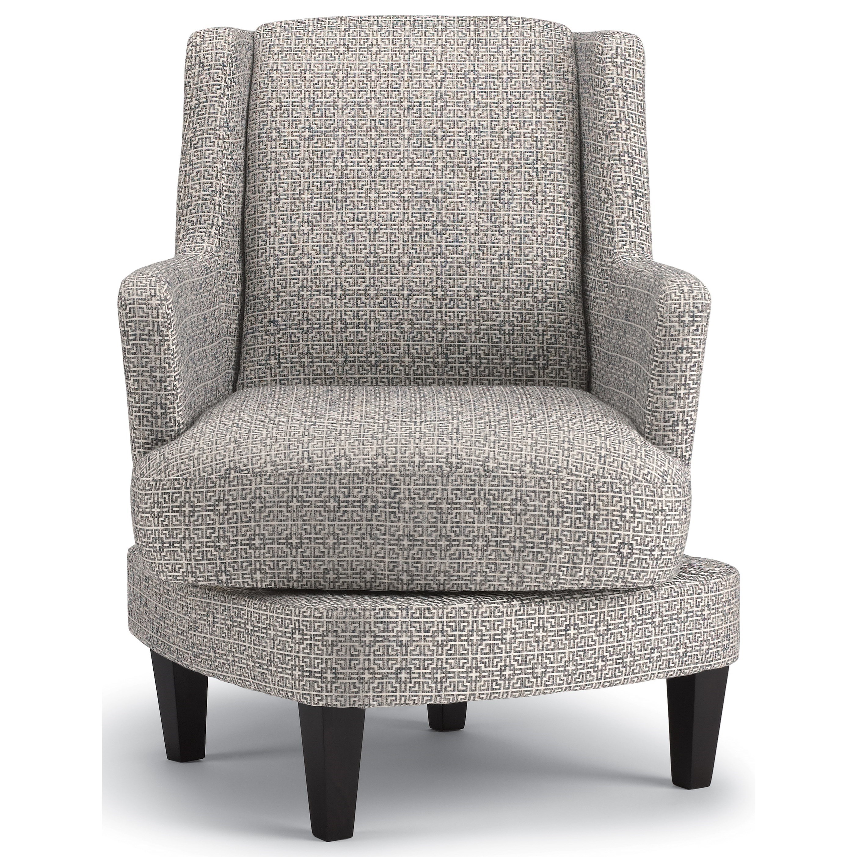 Best Home Furnishings Violet Casual Swivel Barrel Chair