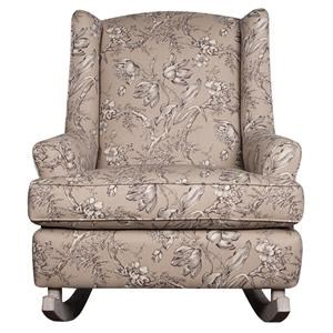 Morris Home Furnishings Wendy Wendy Upholstered Rocking Chair