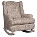 Morris Home Furnishings Wendy Upholstered Rocking Chair