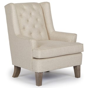 Morris Home Furnishings Chairs - Wing Back Wing Chair