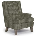 Best Home Furnishings Chairs - Wing Back Wing Chair - Item Number: 0160-33023A