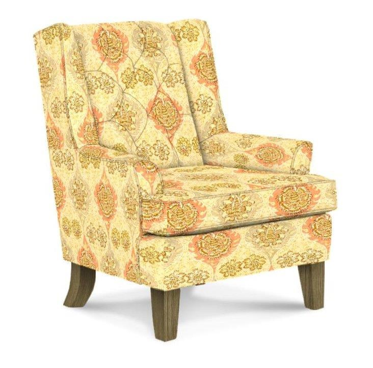 Best Home Furnishings Chairs - Wing Back Wing Chair - Item Number: 0160R 34834 ROSEWATER