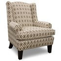 Best Home Furnishings Wing Chairs Amelia Wing Back Chair - Item Number: 0190-28079
