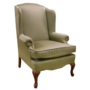 Vendor 411 Chairs - Wing Back Esther Queen Anne Wing Chair