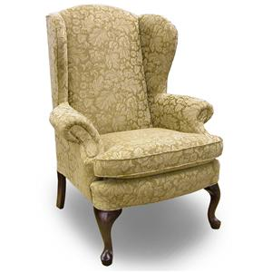 Morris Home Furnishings Chairs - Wing Back Sylvia Wing Chair