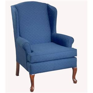 Morris Home Furnishings Chairs - Wing Back Doris Wing Chair