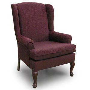 Morris Home Furnishings Chairs - Wing Back Vespa Wing Back Chair