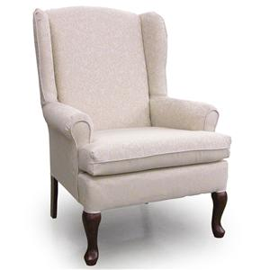 Best Home Furnishings Chairs - Wing Back Vespa Wing Back Chair