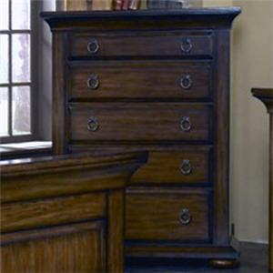 BK Home Jakes Tavern Drawer Chest