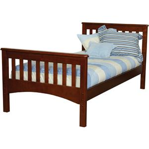 Vendor 3413 Mission Full Slat Bed