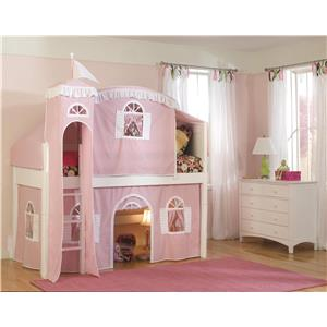 Bolton Mulberry -- Mulberry Loft Bed w/Curtain, Tent and Tow