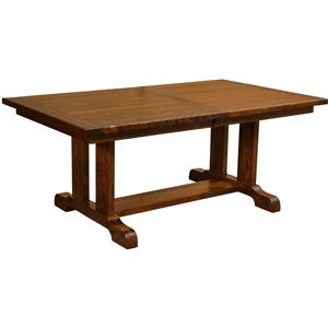 Borkholder Burwick Trestle Dining Table