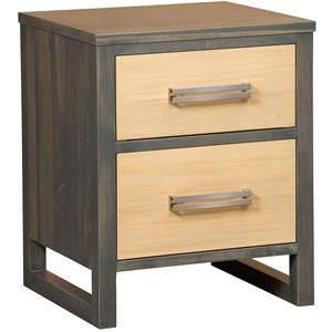 Borkholder Embassy 2 Drawer Nightstand