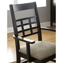 Borkholder Sunset Hills Arm Chair with Lattice Back