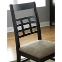 Borkholder Sunset Hills Side Chair with Lattice Back