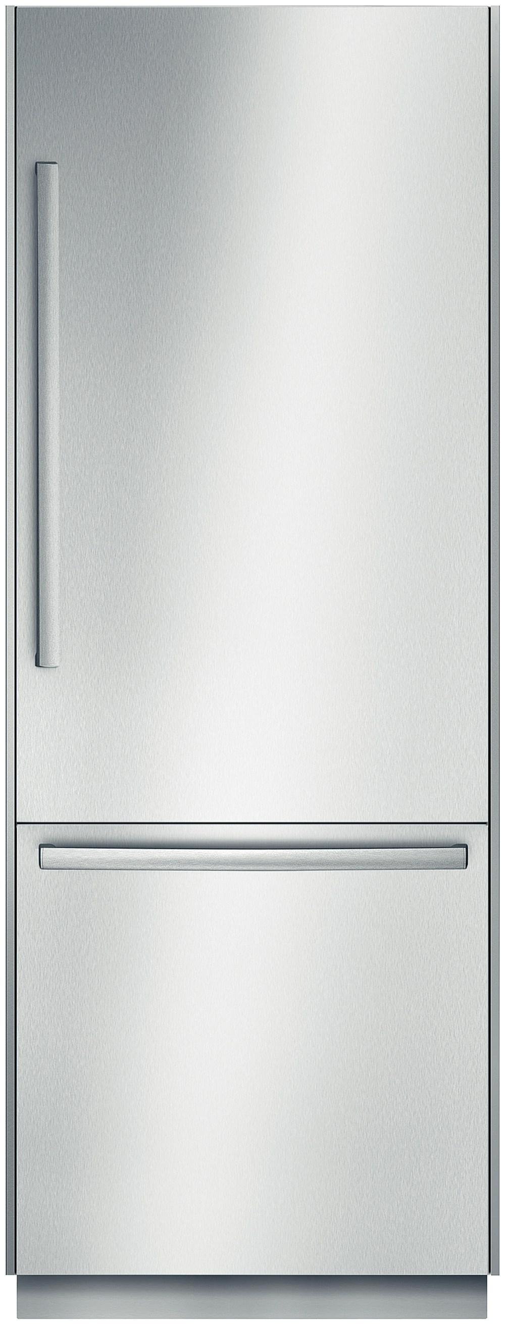Bosch Bottom-Freezer Refrigerators 16 Cu. Ft. Built-In Bottom-Freezer Refrigera - Item Number: B30BB830SS