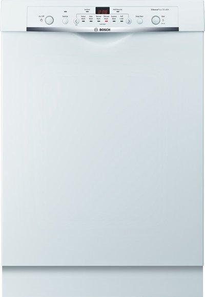 "Bosch Dishwashers 24"" Built-In Tall Tub Dishwasher - Item Number: SHE3AR72UC"