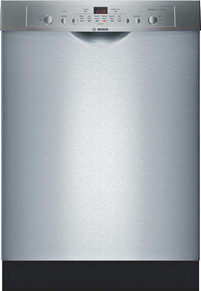 "Bosch Dishwashers 24"" Built-In Tall Tub Dishwasher - Item Number: SHE3AR75UC"