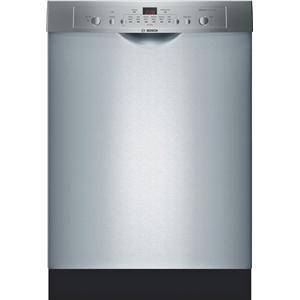 "Bosch Dishwashers 24"" Built-In Tall Tub Dishwasher"
