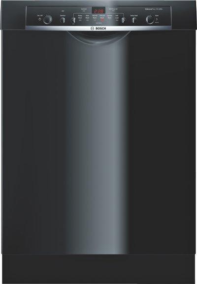 "Bosch Dishwashers 24"" Built-In Tall Tub Dishwasher - Item Number: SHE3AR76UC"