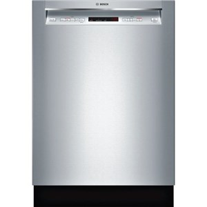 "Bosch Dishwashers 24"" Recessed Handle Dishwasher - 300 Series"