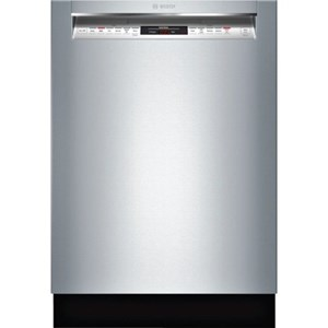 "Bosch Dishwashers 24"" Recessed Handle Dishwasher - 800 Series"