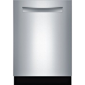 "Bosch Dishwashers 24"" Pocket Handle Dishwasher - 500 Series"