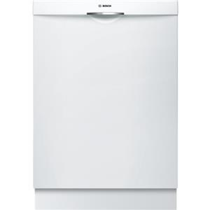 "Bosch Dishwashers 24"" Scoop Handle Dishwasher"