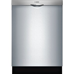"Bosch Dishwashers 24"" Scoop Handle Dishwasher - 300 Series"