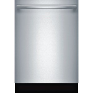 "Bosch Dishwashers 24"" Bar Handle Dishwasher - 300 Series"