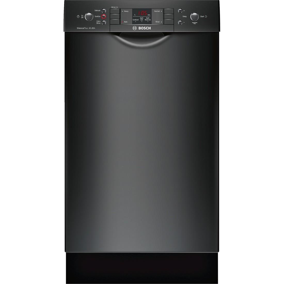 "Bosch Dishwashers 18"" Built-In Dishwasher - Item Number: SPE53U56UC"