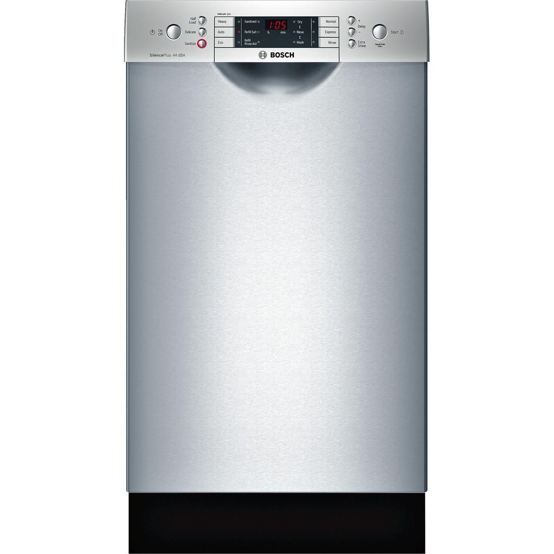 "Bosch Dishwashers 18"" Built-In Dishwasher - Item Number: SPE68U55UC"
