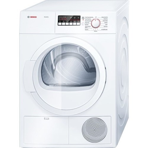 """Bosch Dryers - Electric 24"""" Compact Condensation Dryer - Item Number: WTB86200UC"""