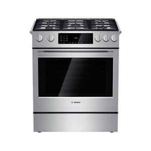 "Bosch Dual-Fuel Ranges 30"" Dual Fuel Slide-in Range"