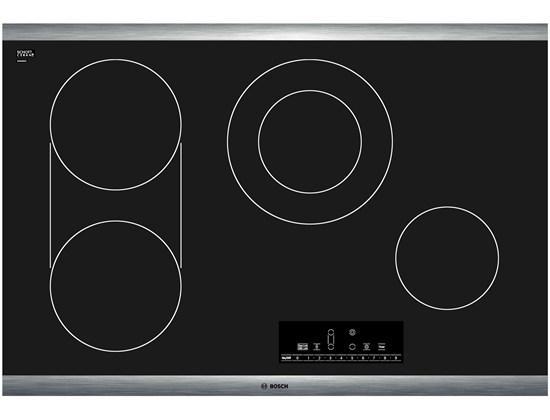 "Bosch Electric Cooktops 30"" Electric Cooktop - Item Number: NET8066SUC"