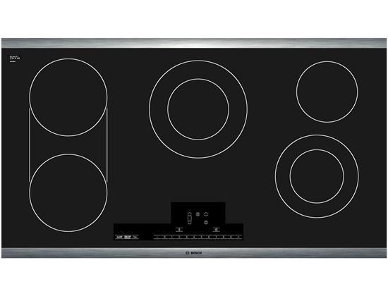 "Bosch Electric Cooktops 36"" Electric Cooktop - Item Number: NET8666SUC"