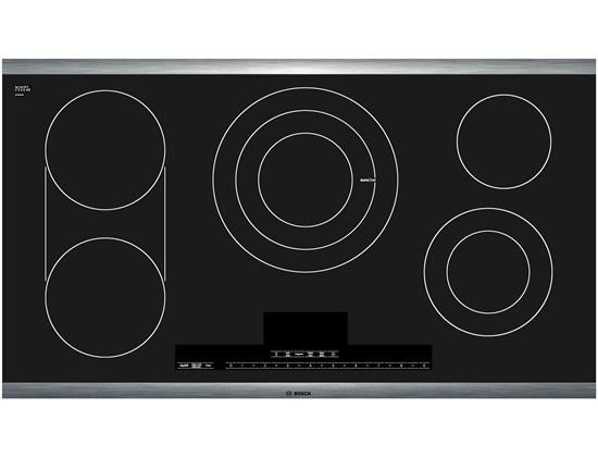 "Bosch Electric Cooktops 36"" Electric Cooktop - Item Number: NETP666SUC"