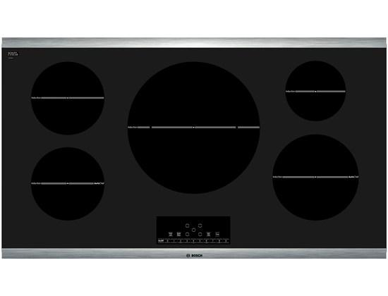 "Bosch Electric Cooktops 36"" Induction Cooktop - Item Number: NIT8666SUC"